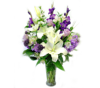 Mom Love's Purple! in Bend OR, All Occasion Flowers & Gifts