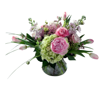 Peony Garden Bouquet in Detroit and St. Clair Shores MI, Conner Park Florist