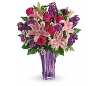 Luxurious Lavender Bouquet - TEV49-1A in Winston Salem NC, Sherwood Flower Shop, Inc.