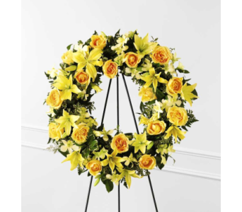 Ring of Friendship Wreath in Bowmanville ON, Van Belle Floral Shoppes
