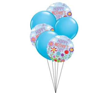 Mother's Day Balloon Bouquet in Big Rapids MI, Patterson's Flowers, Inc.