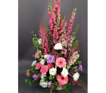 Affection Basket Arrangement in Bowmanville ON, Van Belle Floral Shoppes