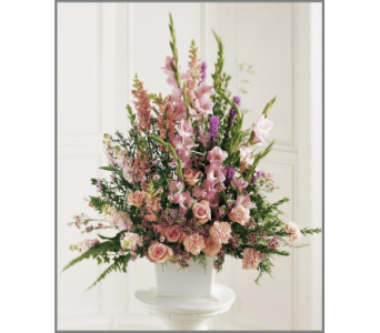 Peaceful Memories Arrangement in Bowmanville ON, Van Belle Floral Shoppes