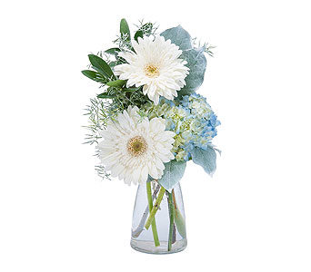 Blue Mist in East Syracuse NY, Whistlestop Florist Inc
