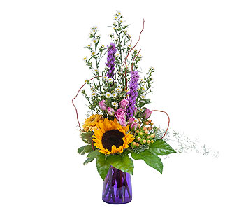 Wildflower Welcome in Metairie LA, Villere's Florist
