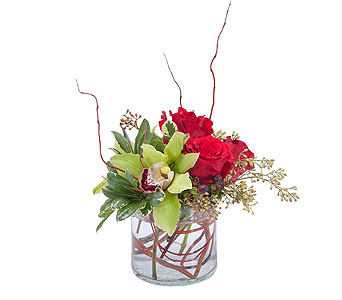 Simply Love in Mount Morris MI, June's Floral Company & Fruit Bouquets