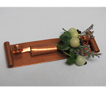 Berry Boutonniere in Traverse City MI, Teboe Florist