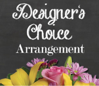 Designer's Choice Arrangement in Timmins ON, Timmins Flower Shop Inc.