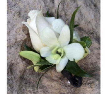 Rose and Orchid Boutonnere  in Markham ON, Metro Florist Inc.
