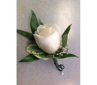 Rose Boutonnere  in Markham ON, Metro Florist Inc.