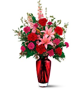 Teleflora's Big Red Bouquet in Tampa FL, Moates Florist