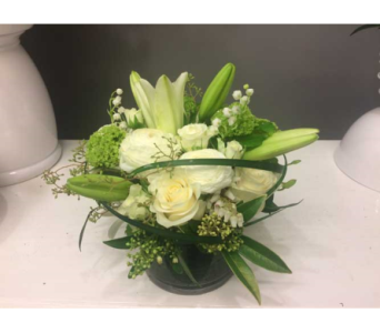 Perfect White in Victoria BC, Fine Floral Designs