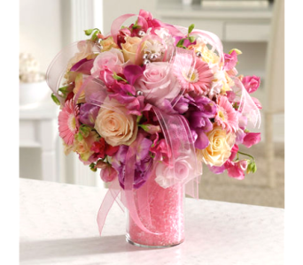 Passionately Pink Bouquet in Columbia TN, Douglas White Florist