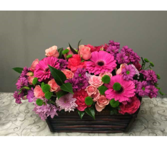 Pink Tapestry Beauty�  in Victoria BC, Fine Floral Designs