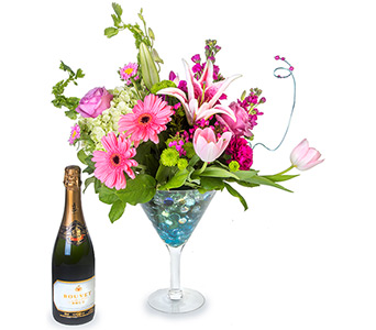 Martini & Champagne in Fort Worth TX, TCU Florist