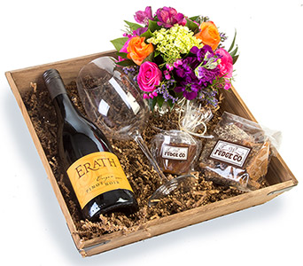 Wine Flowers & Fudge in Fort Worth TX, TCU Florist