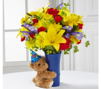 Big Hug Birthday Bouquet in Camp Hill and Harrisburg PA, Pealers Flowers