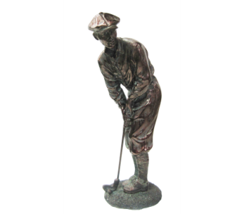 Golfer Figurine in Moorhead MN, Country Greenery
