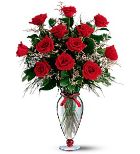 Teleflora's Fall in Love Again Bouquet in Evansville IN, Cottage Florist & Gifts