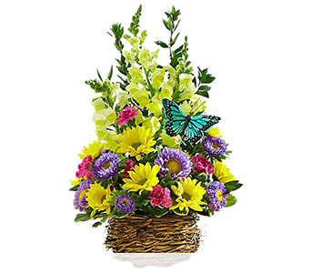 Springtime Bird�s Nest Bouquet