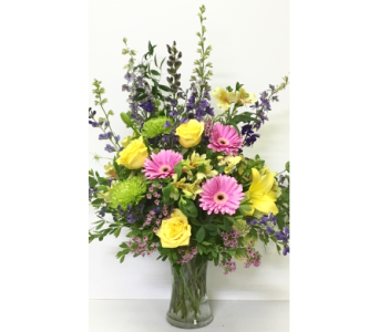 From the Summer Garden - Designed One-Sided in Wyoming MI, Wyoming Stuyvesant Floral