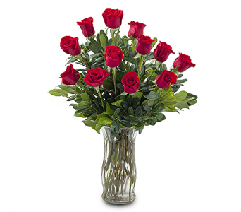 Classic Dozen Red Roses Arranged in Brecksville OH, Brecksville Florist