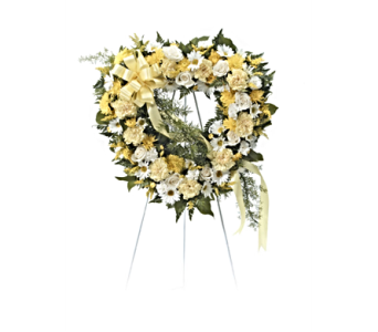 Sunlight Heart Wreath in Herndon VA, Herndon Florist, Inc