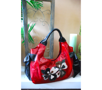 Red Floral Handbag in Manhattan KS, Westloop Floral