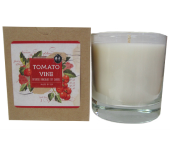 Creative Co-Op� Flair Candle - Tomato Vine in Moorhead MN, Country Greenery