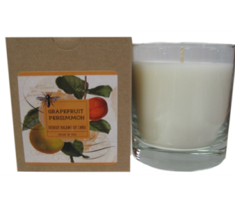 Creative Co-Op� Flair Candle - Grapefruit in Moorhead MN, Country Greenery