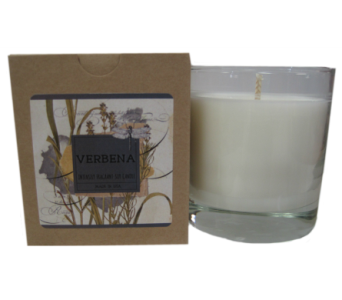 Creative Co-Op� Flair Candle - Verbena in Moorhead MN, Country Greenery