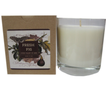 Creative Co-Op� Flair Candle - Fresh Fig in Moorhead MN, Country Greenery