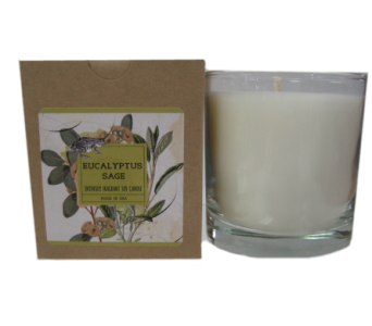 Creative Co-Op� Flair Candle - Eucalyptus Sage in Moorhead MN, Country Greenery