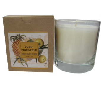 Creative Co-Op� Flair Candle - Yuzu Pineapple in Moorhead MN, Country Greenery