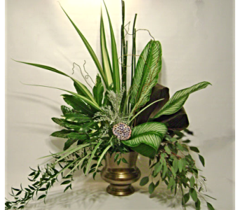 Tropical Foliage Urn in Herndon VA, Herndon Florist, Inc