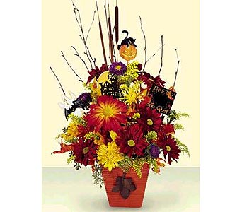 THE HALLOWEEN BOOQUET in N Ft Myers FL, Fort Myers Blossom Shoppe Florist & Gifts