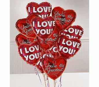 Love Mylar Balloons in Bound Brook NJ, America's Florist & Gifts