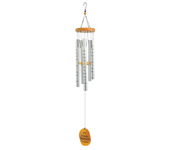 The Memory Becomes a Treasure Wind Chimes in Louisville KY, Berry's Flowers, Inc.