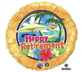 Happy Retirement in Jacksonville FL, Hagan Florist & Gifts