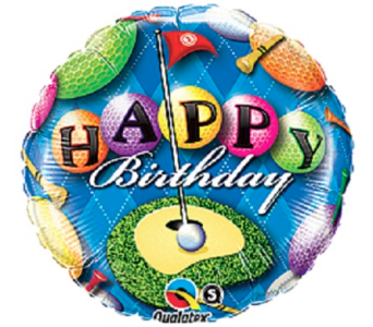 Happy Birthday-Golf in Jacksonville FL, Hagan Florist & Gifts