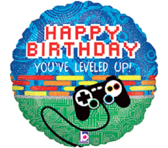 Happy Birthday-Gamer in Jacksonville FL, Hagan Florist & Gifts