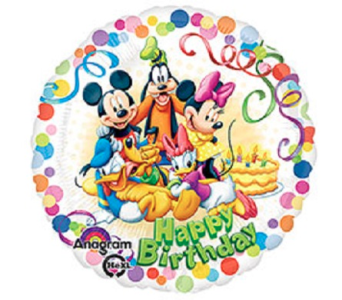 Happy Birthday-Mickey & Friends in Jacksonville FL, Hagan Florist & Gifts