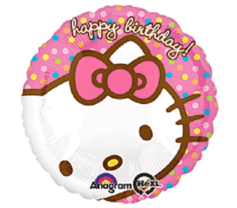 Happy Birthday-Hello Kitty in Jacksonville FL, Hagan Florist & Gifts