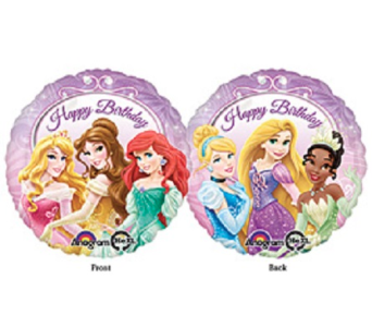 Happy Birthday-Disney Princesses in Jacksonville FL, Hagan Florist & Gifts