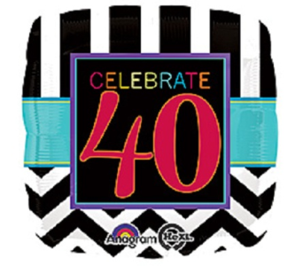 Celebrate 40 in Jacksonville FL, Hagan Florist & Gifts