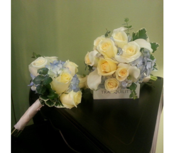 Bridal and Attendant Bouquets in Nashville TN, The Bellevue Florist