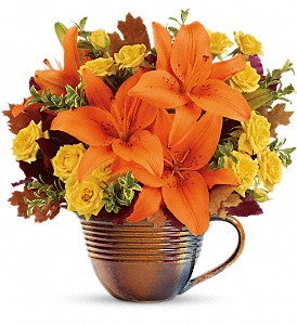 Teleflora's Fall Mystique Bouquet in Santee CA, Candlelight Florist
