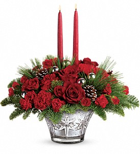 Teleflora's All That Glitters Centerpiece in Mobile AL, Cleveland the Florist