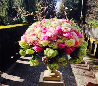 Life Garden Urn in Bellevue WA, CITY FLOWERS, INC.