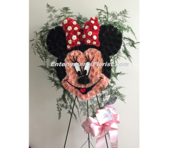 Minnie Mouse in Jersey City NJ, Entenmann's Florist